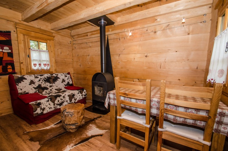Chamonix Luxury Rental Chalet Crossite Living Area