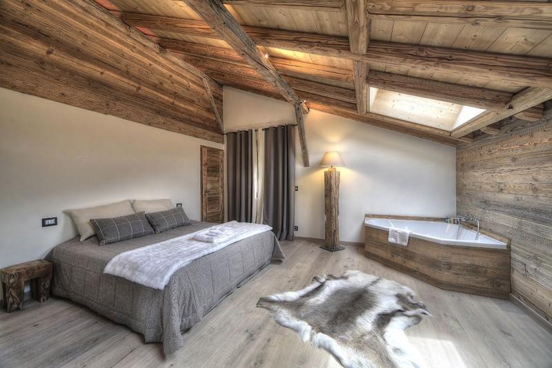 Chamonix Location Chalet Luxe Palandri Chambre1