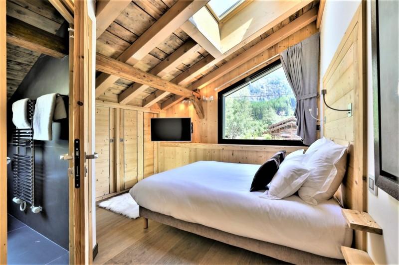 Chamonix Mont Blanc Location Chalet Luxe Paradamate Chambre 1