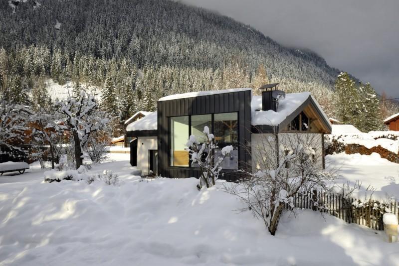 Chamonix Mont Blanc Location Chalet Luxe Paradamate Extérieur