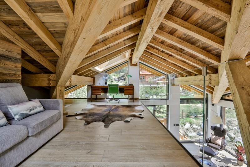 Chamonix Mont Blanc Rental Chalet Luxury Paradamete Desktop