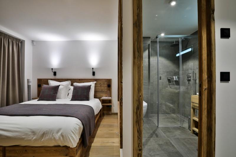 Chamonix Mont Blanc Rental Chalet Luxury Paradamete Bedroom 1