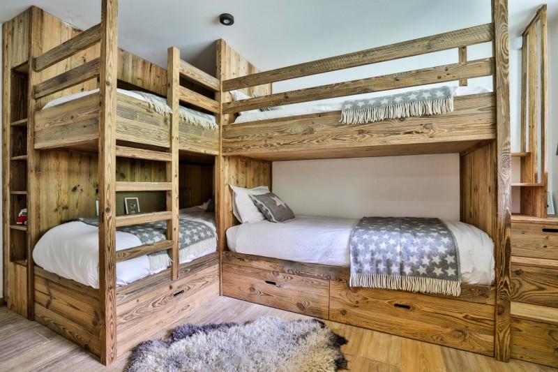 Chamonix Mont Blanc Rental Chalet Luxury Paradamete Bedroom 4