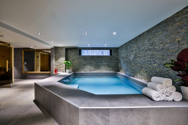 Chamonix Mont Blanc Rental Chalet Luxury Paradamete Swimming Pool
