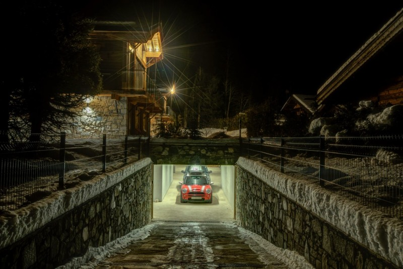 Chamonix Mont Blanc Location Chalet Luxe Paradamote Garage