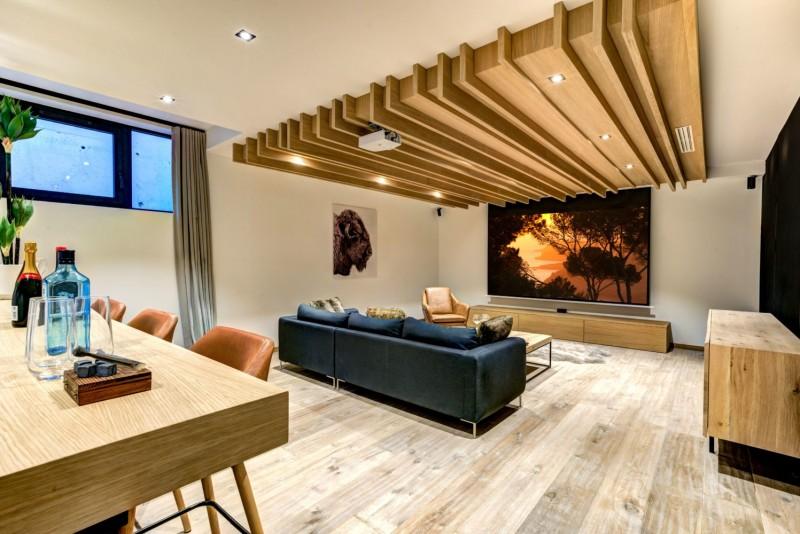 Chamonix Mont Blanc Location Chalet Luxe Paradamote Salon