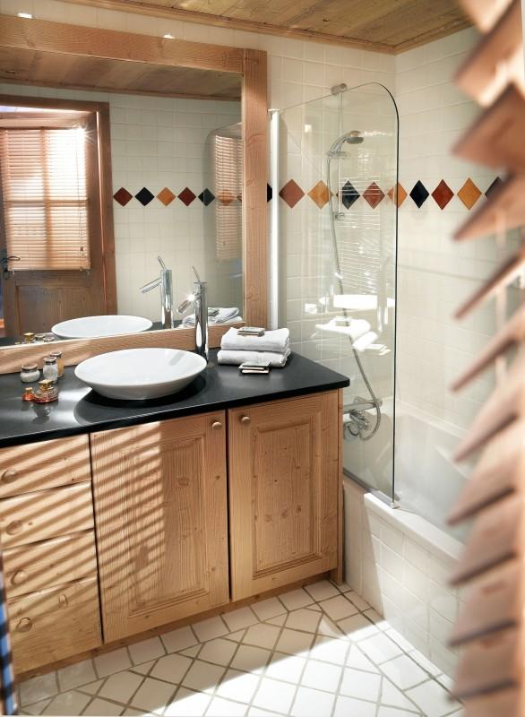 Champagny En Vanoise Location Appartement Luxe Chapmenite Duplex Salle De Bain