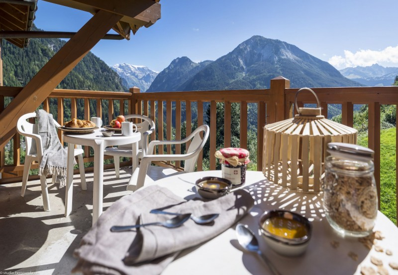 Champagny En Vanoise Location Appartement Luxe Chapminite Balcon