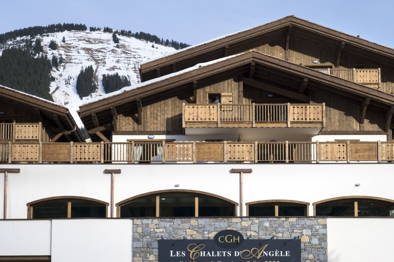 Châtel Rental Apartment Luxury Cuprice Outside