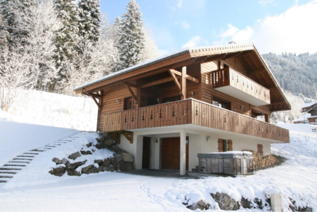Chatel Location Chalet Luxe Chadwickite Extérieur