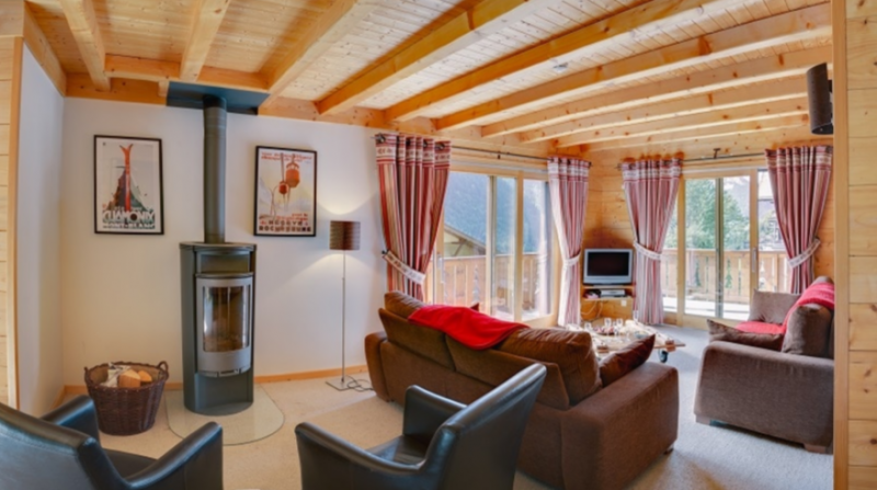 Chatel Location Chalet Luxe Chadwickite Séjour 3