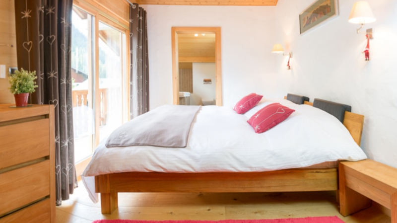 Chatel Location Chalet Luxe Chalcantite Chambre