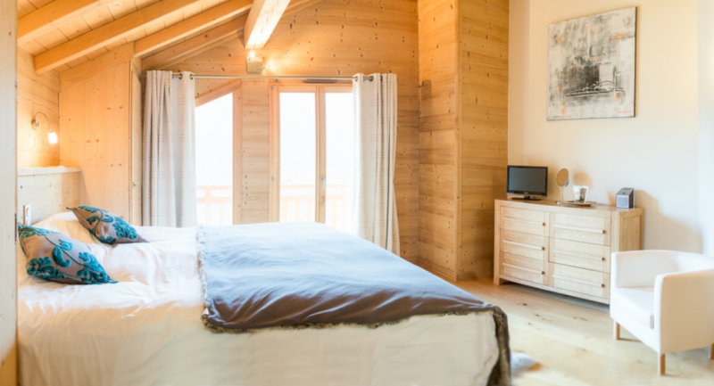 Chatel Location Chalet Luxe Chalcocyanite Chambre 3