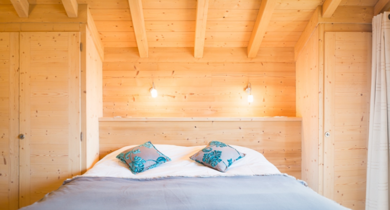 Chatel Location Chalet Luxe Chalcocyanite Chambre