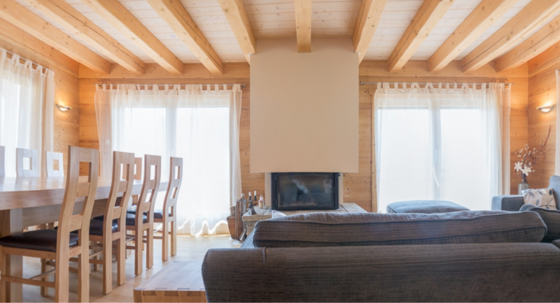 Chatel Luxury Rental Chalet Chalcocyanite Living Area 3