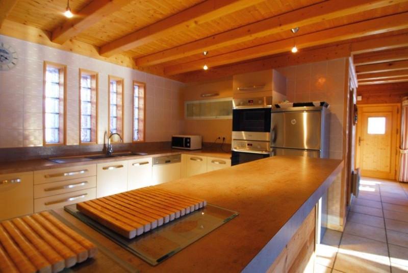 Chatel Luxury Rental Chalet Chalcophanite Kitchen