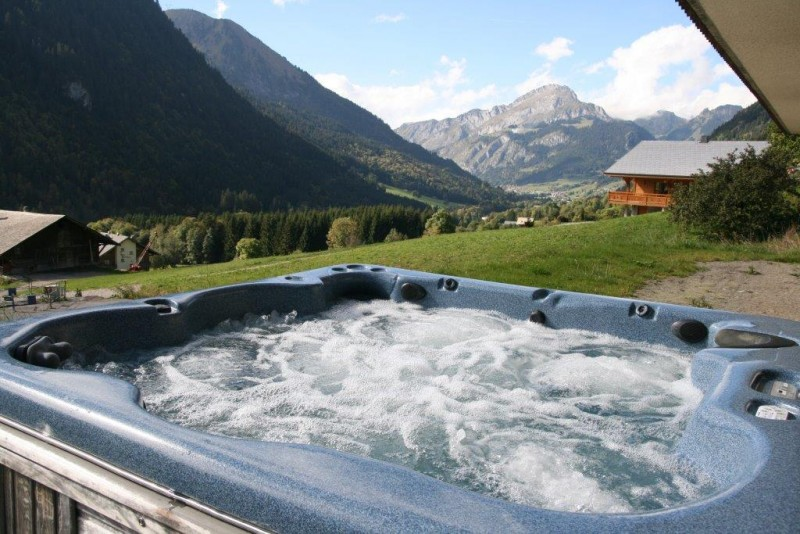 Chatel Location Chalet Luxe Chalcophanite Jacuzzi