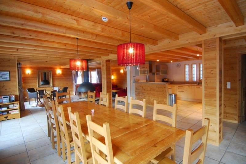 Chatel Location Chalet Luxe Chalcophanite Salle A Manger