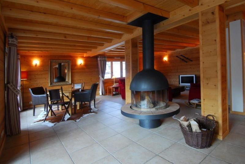 Chatel Luxury Rental Chalet Chalcophanite Living Area 3