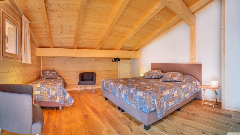 Chatel Location Chalet Luxe Chalcora Chambre 2