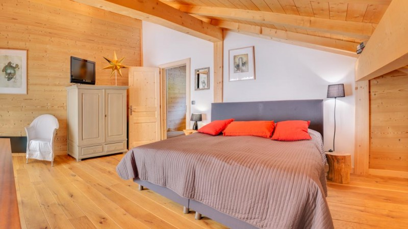Chatel Luxury Rental Chalet Chalcora Bedroom 3