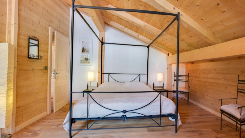 Chatel Location Chalet Luxe Chalcora Chambre 5