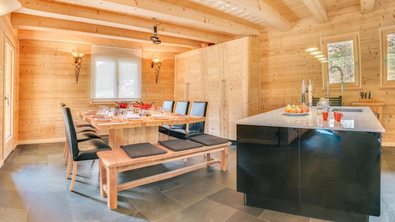 Chatel Location Chalet Luxe Chalcora Salle A Manger 2
