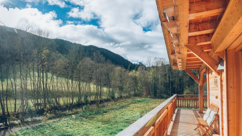 Chatel Location Chalet Luxe Chalcora Terrasse 2