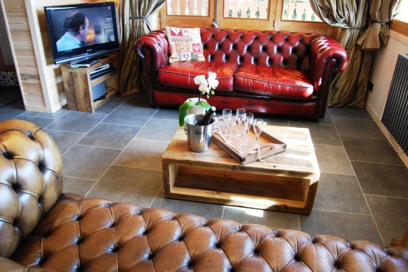 Chatel Luxury Rental Chalet Chalcori Living Area