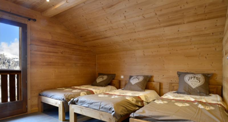 Chatel Location Chalet Luxe Chalcoru Chambre