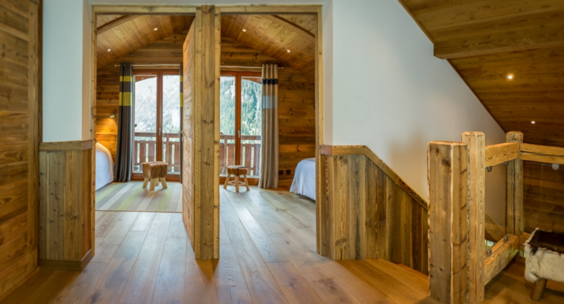 Chatel Location Chalet Luxe Chambera Chambre 2