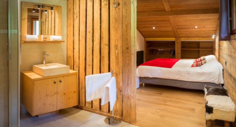 Chatel Luxury Rental Chalet Chambera Bedroom 7