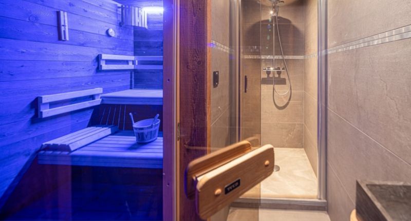 Chatel Location Chalet Luxe Chambera Sauna 2