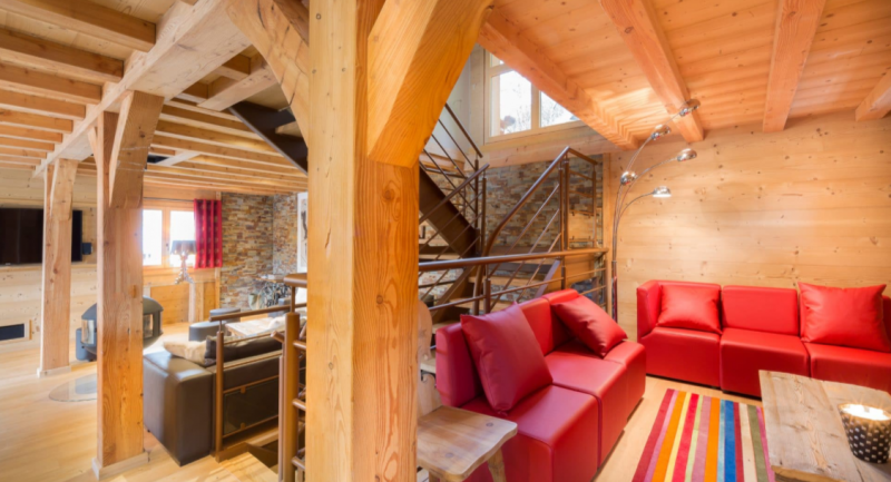 Chatel Luxury Rental Chalet Chambero Living Area 3