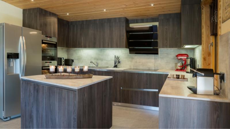 Chatel Luxury Rental Chalet Chapa Kitchen