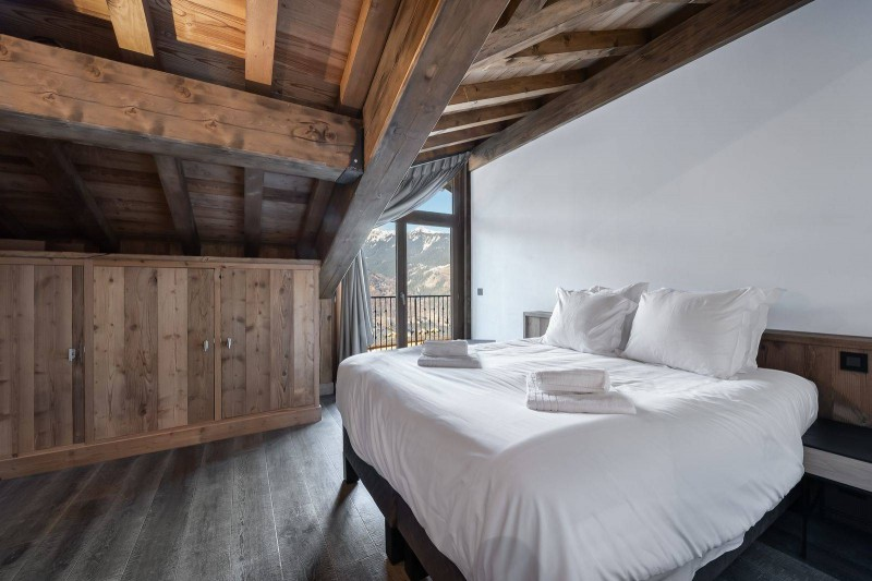 Courchevel 1300 Location Appartement Luxe Tilanche Chambre 4