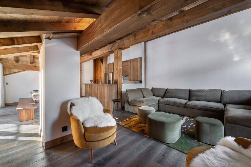 Courchevel 1300 Location Appartement Luxe Tilanche Séjour 2