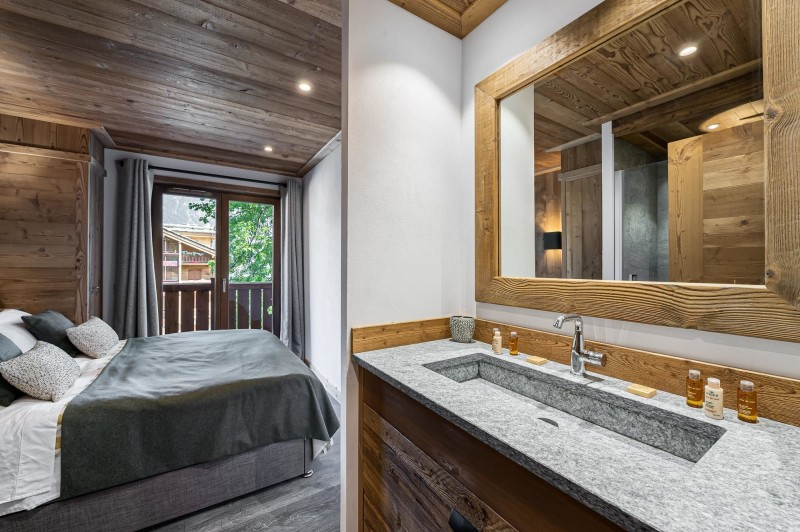 Courchevel 1300 Luxury Rental Appartment Tilate Bedroom 2