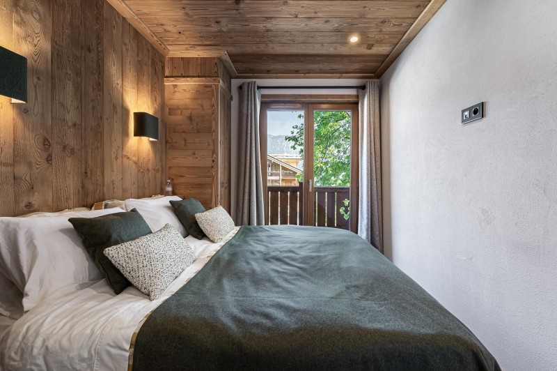 Courchevel 1300 Luxury Rental Appartment Tilate Bedroom 3