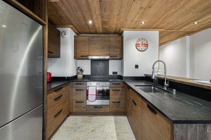 Courchevel 1300 Location Appartement Luxe Tilite Cuisine