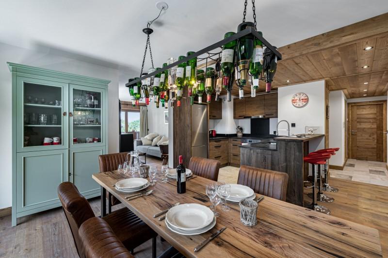 Courchevel 1300 Location Appartement Luxe Tilite Salle A Manger 3