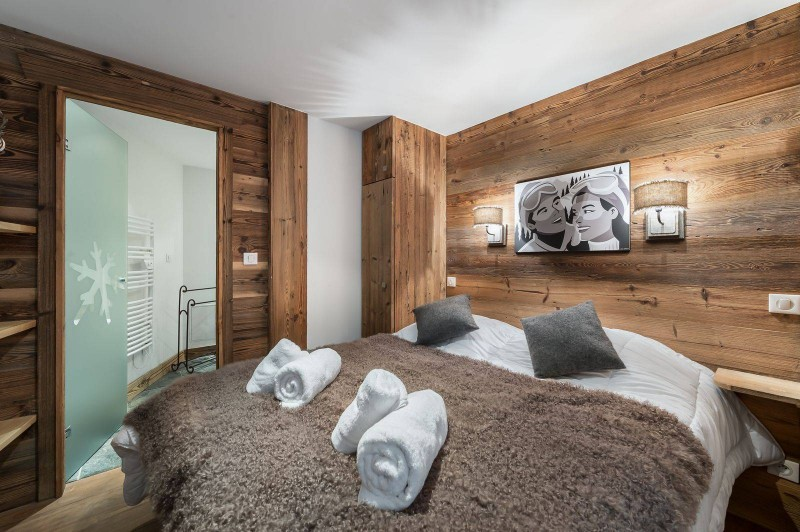 Courchevel 1300 Luxury Rental Appartment Tilure Bedroom 5