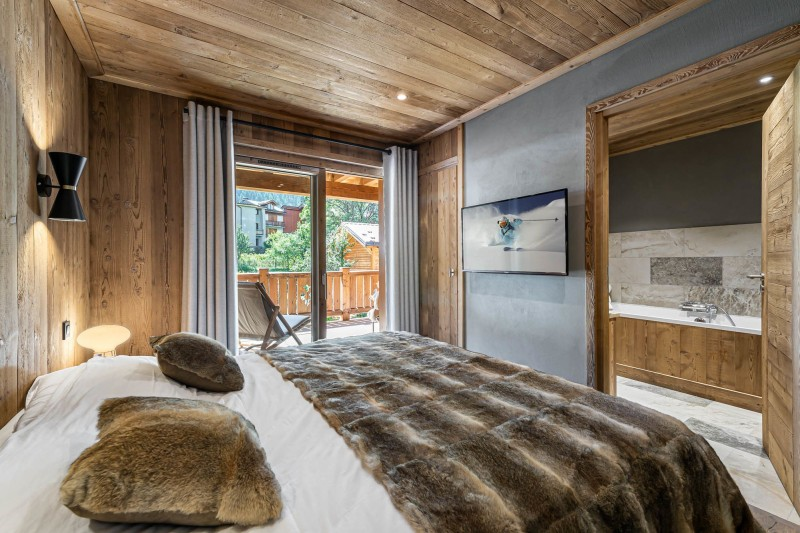 Courchevel 1300 Location Appartement Luxe Tilute Chambre 3
