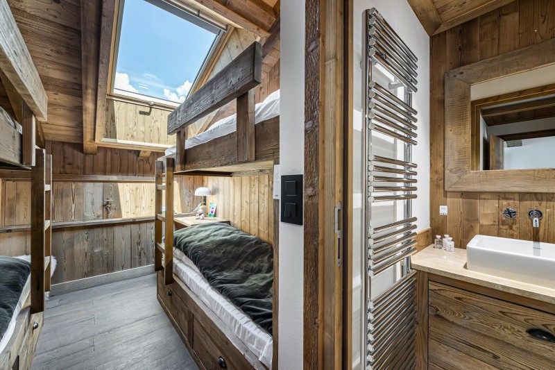 Courchevel 1300 Luxury Rental Appartment Tilute Bedroom 5