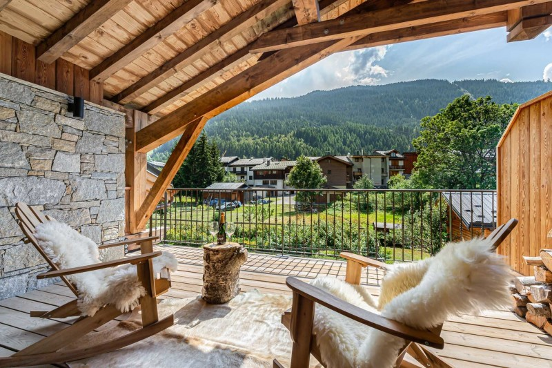 Courchevel 1300 Location Appartement Luxe Tilute Terrasse