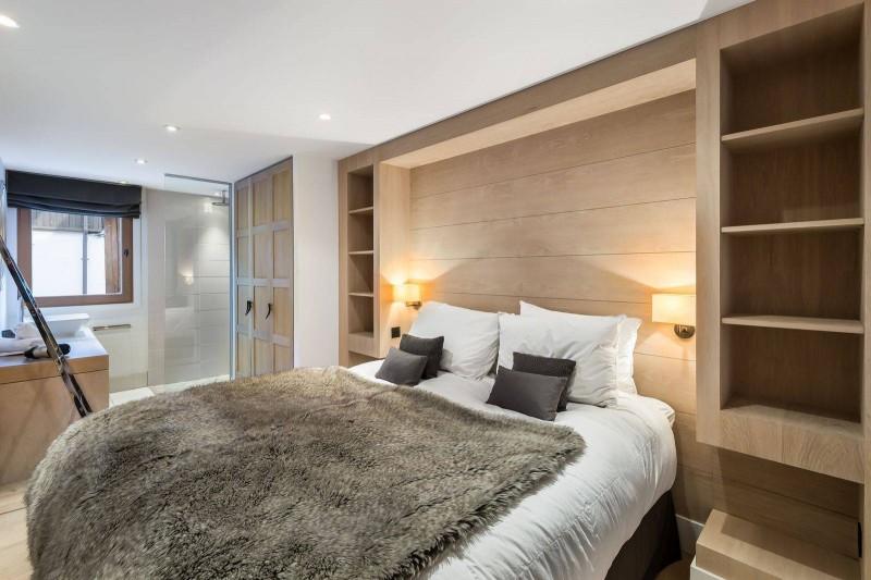 Courchevel 1300 Luxury Rental Chalet Nibate Bedroom