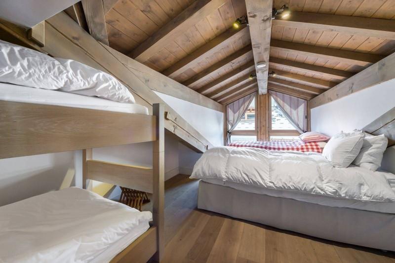 Courchevel 1300 Luxury Rental Chalet Nibate Bedroom 7