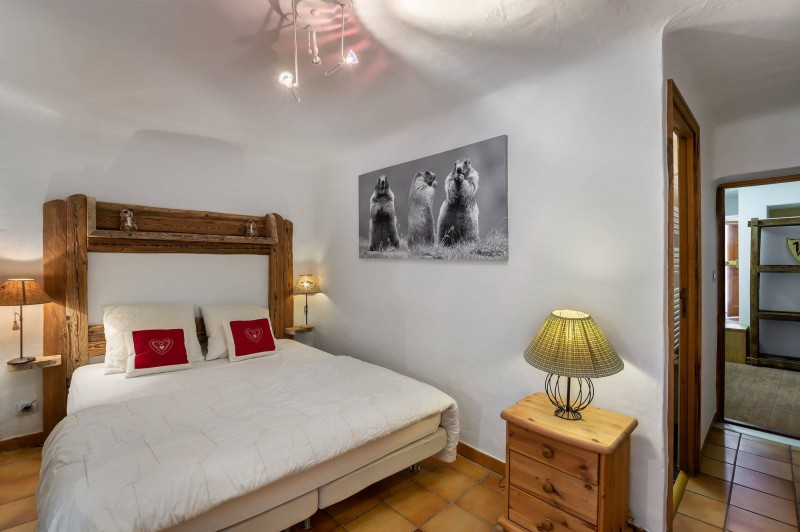 Courchevel 1300 Luxury Rental Chalet Nieruole Bedroom