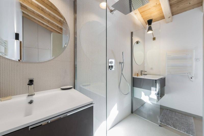 Courchevel 1300 Luxury Rental Chalet Niutine Bathroom
