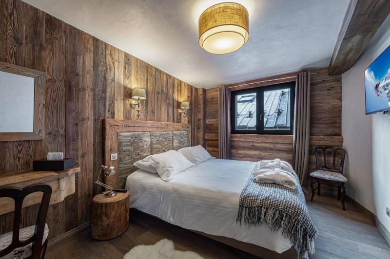 Courchevel 1300 Luxury Rental Chalet Noubate Bedroom 5